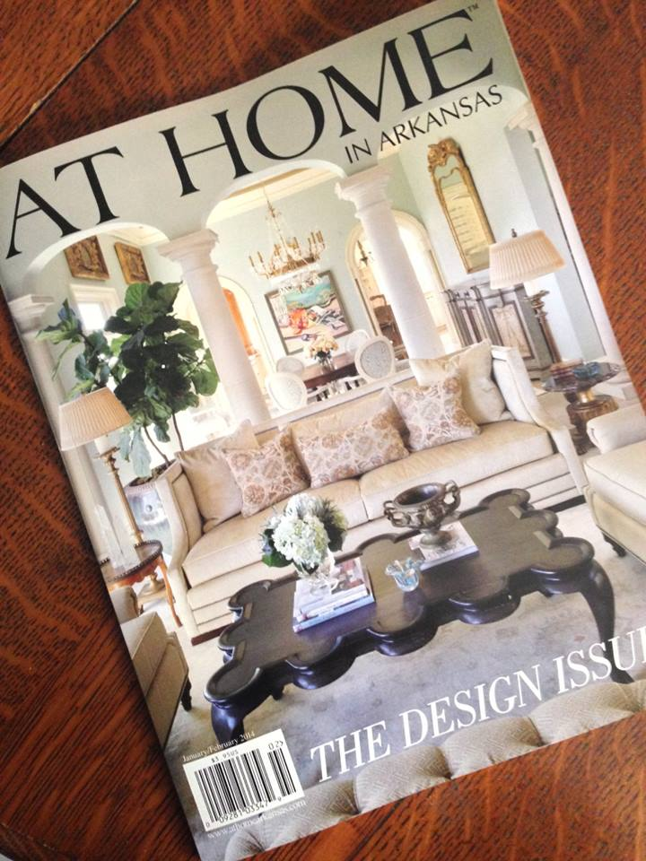 Massimo Interior Design | On the cover of At Home in Arkansas