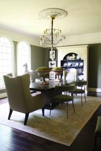 Massimo Interior Design   Arkansas Symphony Designer House Dining Room Makeover