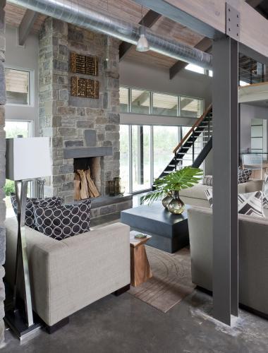 Luxury Lake House Mimo Interior Design Of Little Rock Arkansas Lakeside Living